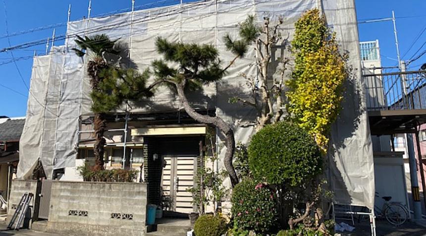 徳島市K様邸 施工中写真01